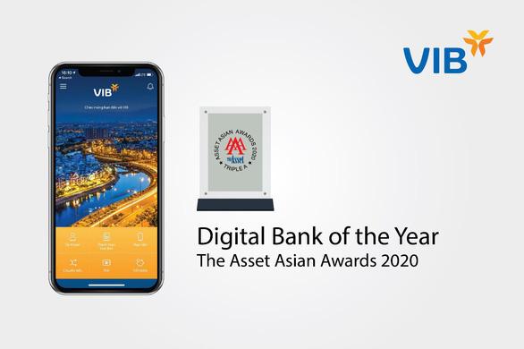 VIB lần thứ tư nhận giải thưởng về Ngân hàng số - Ảnh 1.