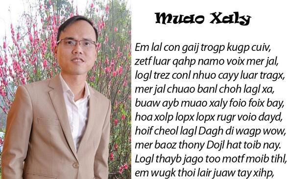 Chữ Việt song song:  Sáng tạo đáng nể hay rắc rối, đọc trẹo cả mồm? - Ảnh 1.