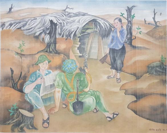 Gặp bà mẹ miền Nam và 'nắng xuân 1975' trong triển lãm mỹ thuật online - Ảnh 6.