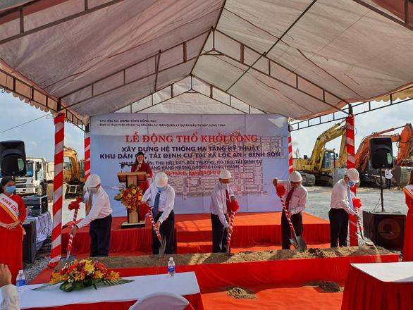 Khởi công dự án hơn 5.000 lô tái định cư đổi lấy đất làm sân bay Long Thành - Ảnh 1.