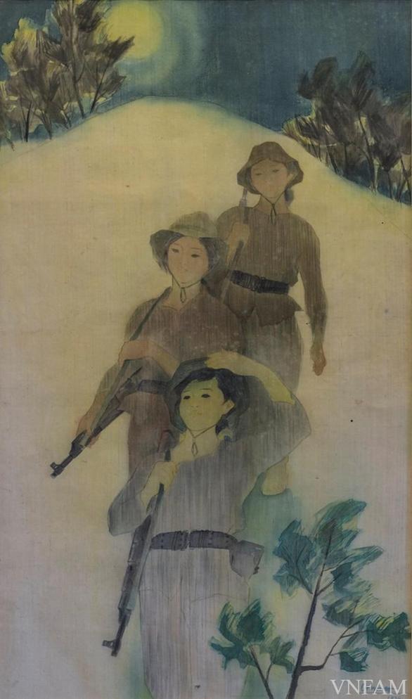 Gặp bà mẹ miền Nam và 'nắng xuân 1975' trong triển lãm mỹ thuật online - Ảnh 11.