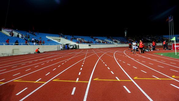 Làm đẹp sân Mỹ Đình đón SEA Games 2021 - Ảnh 1.
