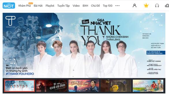 Bài hát Thank you của Gala Nhạc Việt trở thành dự án cộng đồng được yêu thích trên NhacCuaTui - Ảnh 3.