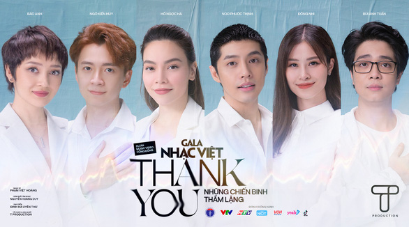 Bài hát Thank you của Gala Nhạc Việt trở thành dự án cộng đồng được yêu thích trên NhacCuaTui - Ảnh 1.