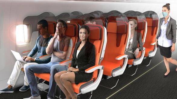 Thiết kế mới hạn chế lây nhiễm virus trên máy bay - Ảnh 1.