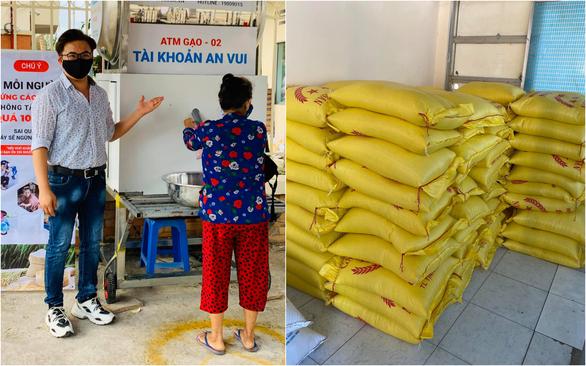 Hứa Vĩ Văn bán tranh, Đại Nghĩa lắp ATM gạo và các sao Việt làm từ thiện trong mùa dịch - Ảnh 3.