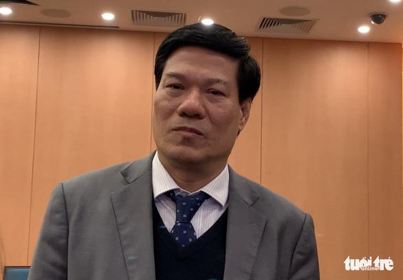 Bắt ông Nguyễn Nhật Cảm - giám đốc Trung tâm Kiểm soát bệnh tật Hà Nội - Ảnh 1.