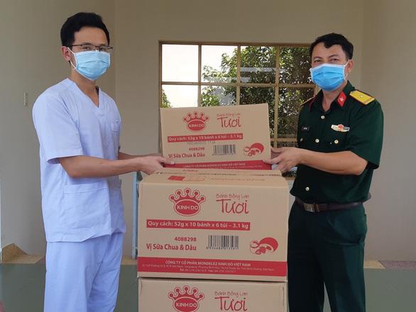 Mondelez Kinh Đô Việt Nam góp sức đẩy lùi dịch COVID-19 - Ảnh 1.