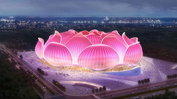 Trung Quốc xây sân vận động đắt giá nhất thế giới, nuôi giấc mơ World Cup - Ảnh 1.