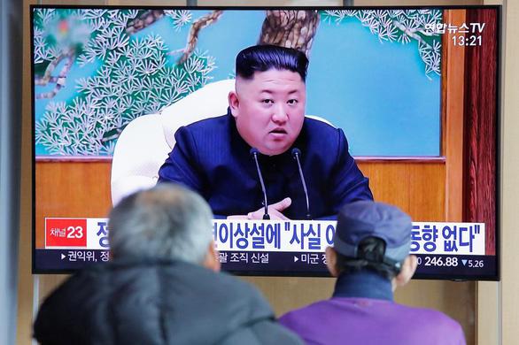 Ông Trump mong ông Kim Jong Un vẫn khỏe mạnh - Ảnh 1.