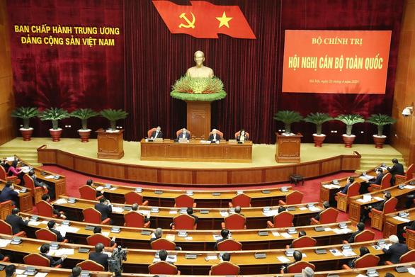 Tổng bí thư, Chủ tịch nước Nguyễn Phú Trọng chủ trì hội nghị cán bộ toàn quốc - Ảnh 1.