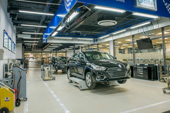 Dính lỗi cầu chì, triệu hồi hơn 23.000 ôtô Hyundai Tucson tại Việt Nam - Ảnh 1.