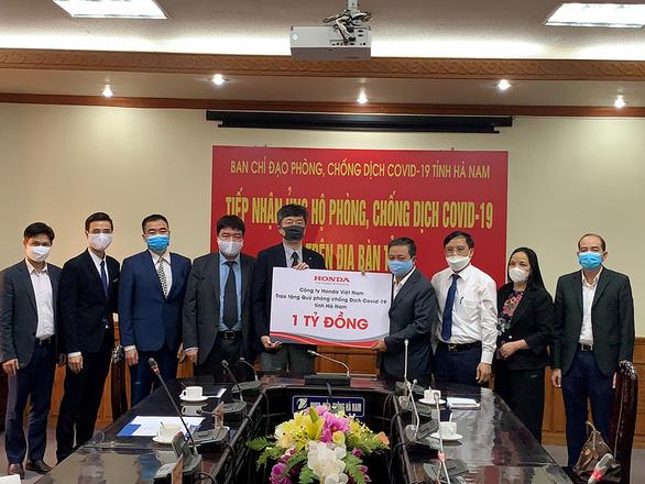 Honda Việt Nam cùng chung tay đẩy lùi dịch bệnh COVID-19 tại Hà Nam - Ảnh 1.