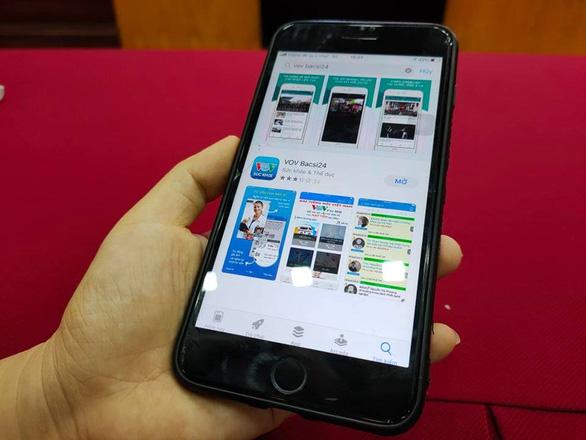 Tư vấn sức khỏe trực tuyến miễn phí qua ứng dụng VOV Bacsi24 - Ảnh 1.