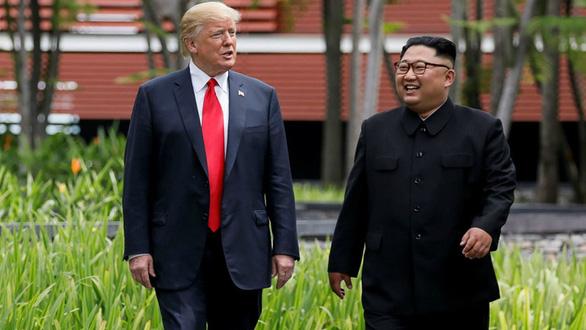 Ông Trump: 'Nói ông Kim Jong Un bệnh nặng là không chính xác' - Ảnh 1.