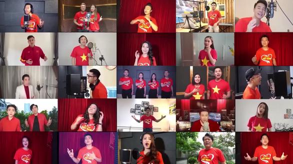 200 ca sĩ, MC tham gia MV Tự hào Việt Nam để cổ vũ chống COVID-19 - Ảnh 2.