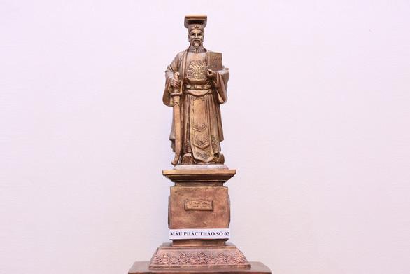 Tòa tối cao dựng tượng Lý Thái Tông là biểu tượng công lý - Ảnh 1.