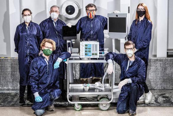 NASA chế tạo máy thở chỉ trong 37 ngày - Ảnh 1.