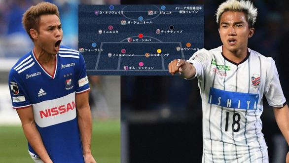 Chanathip và Theerathon lọt vào đội hình ngoại binh hay nhất Nhật Bản 2019 - Ảnh 1.