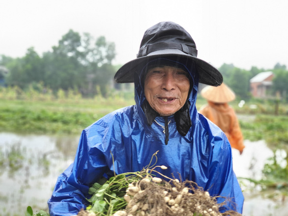 Nhiều nơi nắng hạn, Thừa Thiên Huế lại ngập vì mưa, vụ mùa bị đe dọa - Ảnh 1.