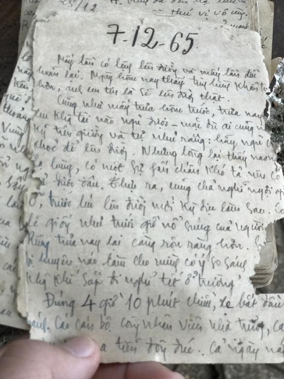 Những thầy giáo cầm bút vào chiến trường - Kỳ 1: Trích máu, nhịn ăn để vào Nam - Ảnh 3.