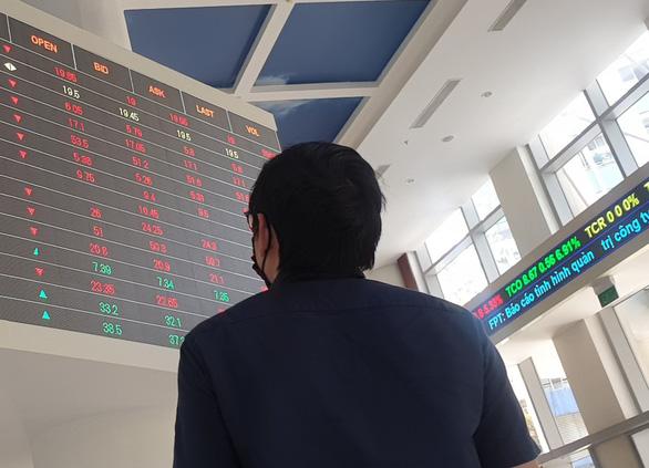 Chứng khoán bị cuốn trôi 20.449 tỉ đồng vốn hóa, khối ngoại bán ròng - Ảnh 1.