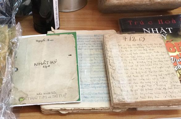 Những thầy giáo cầm bút vào chiến trường - Kỳ 2: Nhật ký vượt Trường Sơn - Ảnh 1.