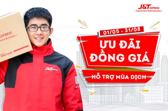 Chuyển phát nhanh J&T Express đồng giá giao hàng chỉ từ 14.000đ - Ảnh 1.