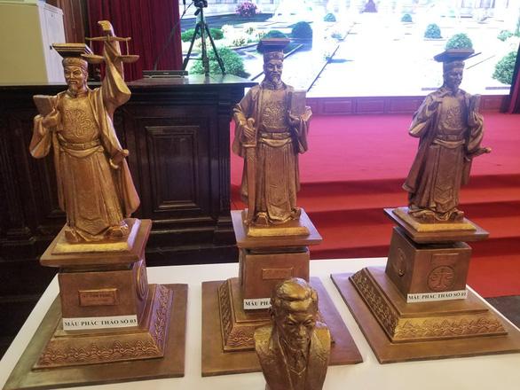 Chỉ dựng tượng vua Lý Thái Tông tại trụ sở Tòa án tối cao - Ảnh 1.