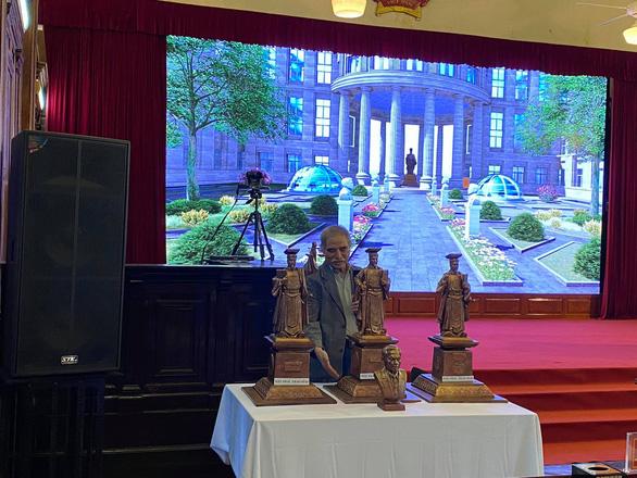 Chỉ dựng tượng vua Lý Thái Tông tại trụ sở Tòa án tối cao - Ảnh 3.