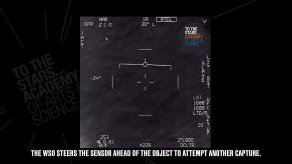 Lầu Năm Góc công bố các đoạn phim về vật thể bay không xác định UFO - Ảnh 1.