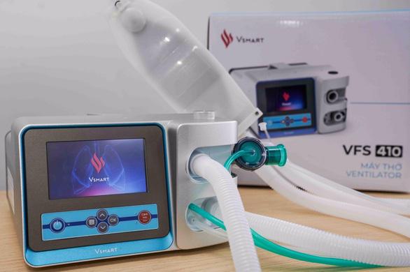 Vingroup làm xong hai mẫu máy thở xâm nhập, nội địa hóa 70% - Ảnh 1.