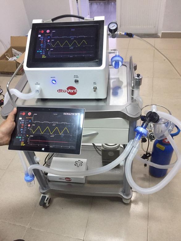 Máy thở dtu-VENT Ver2.0 hỗ trợ cả thở xâm nhập với chi phí dưới 50 triệu đồng - Ảnh 1.