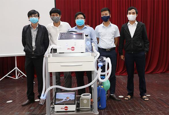 Máy thở dtu-VENT Ver2.0 hỗ trợ cả thở xâm nhập với chi phí dưới 50 triệu đồng - Ảnh 3.