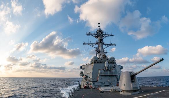 Mỹ nêu Trung Quốc khiêu khích và cưỡng ép quân sự ở Biển Đông trong báo cáo gửi quốc hội - Ảnh 1.