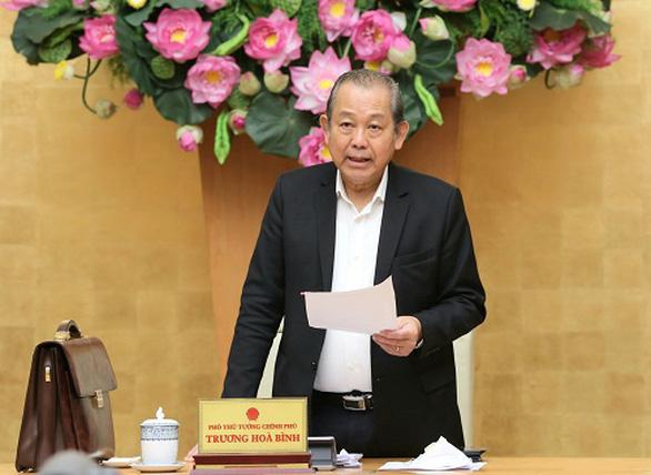 Phó thủ tướng Trương Hòa Bình: 12 dự án thua lỗ yếu kém, không thể phục hồi thì cho phá sản - Ảnh 1.