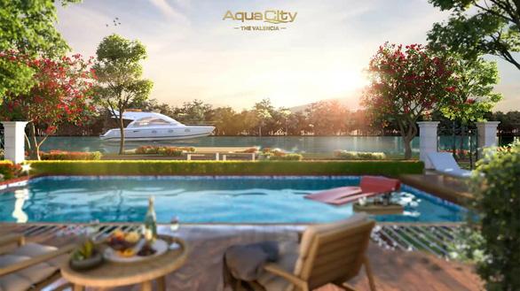 Cuộc sống đa sắc màu tại The Valencia trong lòng đô thị Aqua City - Ảnh 1.