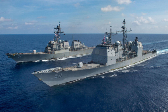Quân đội Trung Quốc gọi Mỹ là kẻ phá rối ở Biển Đông - Ảnh 1.