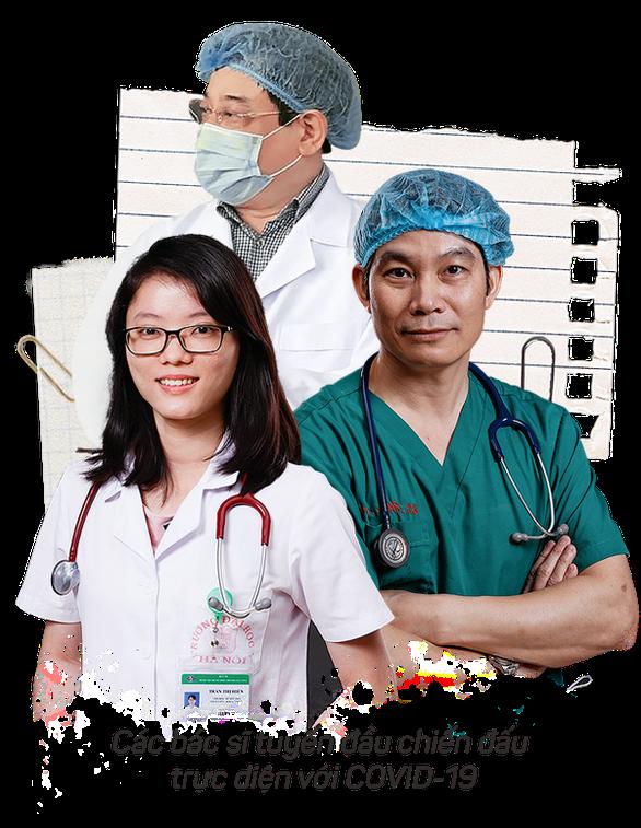 Chúng tôi xin cúi đầu cảm ơn các y bác sĩ tuyến đầu chống dịch - Ảnh 2.