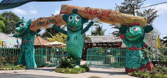 Một điểm du lịch ở huyện Phong Điền chưa hoạt động trở lại sau thời gian tạm đóng cửa phòng dịch COVID-19 - Ảnh: LÊ DÂN