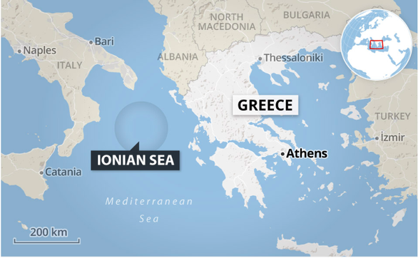 Trực thăng quân sự Canada mất tích ngoài khơi Hi Lạp - Ảnh 1.