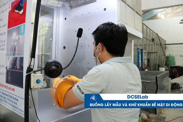 ĐH Bách khoa TP.HCM giới thiệu loạt sản phẩm công nghệ phòng chống COVID-19 - Ảnh 1.