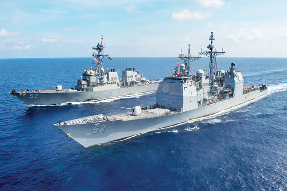 Trung Quốc cản trở tự do hàng hải của Mỹ ở Biển Đông? - Ảnh 1.