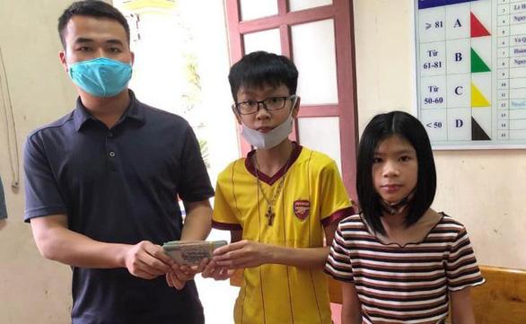 Học sinh lớp 7 nhặt được 50 triệu đồng, tìm trả lại người đánh rơi - Ảnh 1.