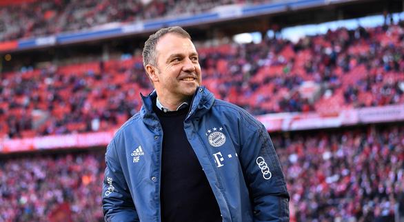 Bayern Munich ký hợp đồng chính thức với HLV tạm quyền Hansi Flick - Ảnh 1.