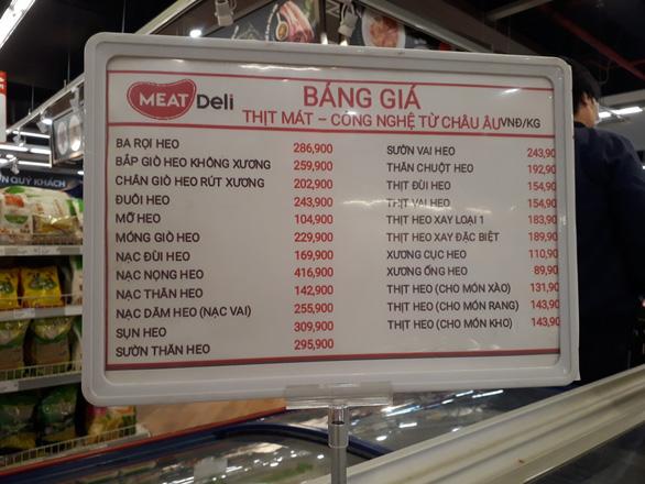 Giá thịt heo vẫn quanh mức 180.000-240.000 đồng/kg - Ảnh 1.