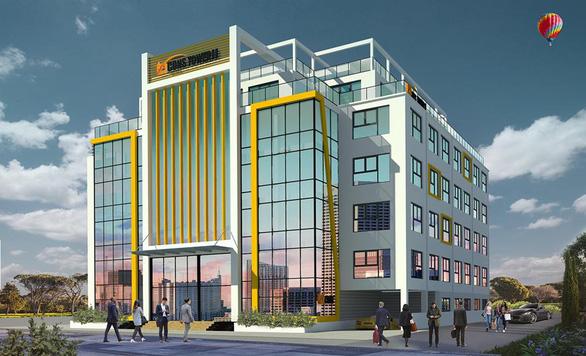 Tháng 6-2020 Bcons đưa vào khai thác tòa nhà văn phòng Bcons Tower II - Ảnh 1.