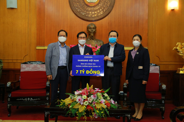 Samsung ủng hộ 10 tỉ hỗ trợ phòng chống dịch COVID-19 - Ảnh 1.