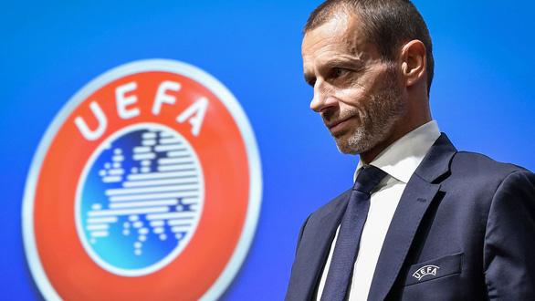 Chủ tịch UEFA nói Liverpool phải được trao cúp vô địch - Ảnh 1.