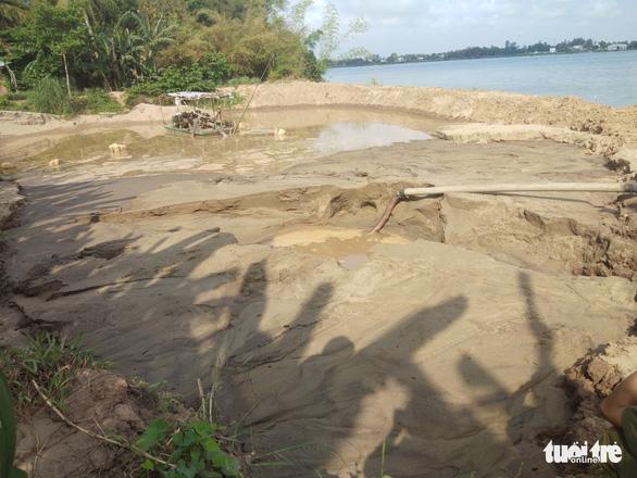 An Giang: cát tặc vẫn lộng hành trên sông - Ảnh 3.